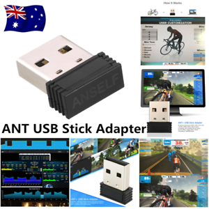 ANT+ USB Stick Adapter Compatible With Zwift TrainerRoad PerfPRO