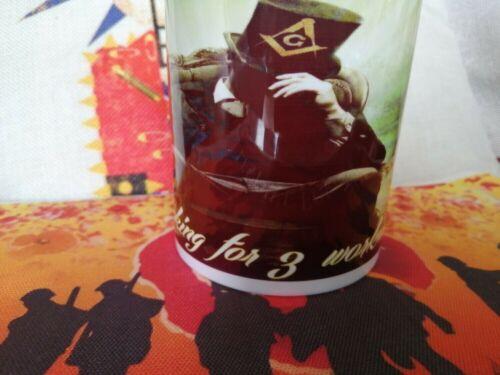 Masonic Hiram mug