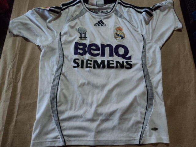 Old soccer  Jersey Real Madrid Size 14