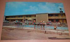 Vintage Barding's Voyager Inn Decatur Illinois Photo Postcard Unused 1960s Pool