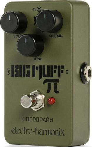 EHX Green Russian Big Muff  für Gitarre Overdrive Electro Harmonix