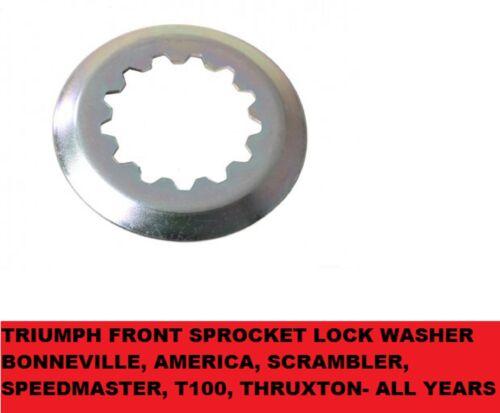 FRONT Sprocket WASHER TRIUMPH America,Speedmaster,Bonneville,Thruxton ALL YEARS