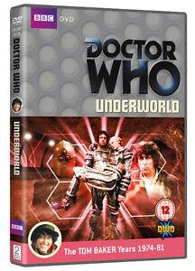 Doctor-Who-Underworld-Muy-Buen-Estado-Insert-Caja-Original-Dr-Who