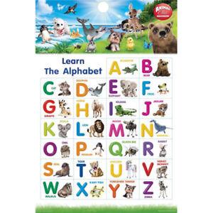 Animal-Club-Alphabet-POSTER-61x91cm-BRAND-NEW