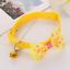 Adjustable-Kitten-Necktie-Collar-Bowknot-Bow-Bell-Tie-Cat-Small-Pet-Puppy-UK thumbnail 8