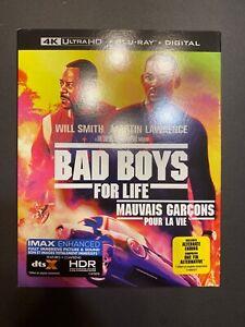BAD-BOYS-FOR-LIFE-4-K-Ultra-HD-Blu-ray-Incl-Digital-Copy-NEW-Includes-Slip