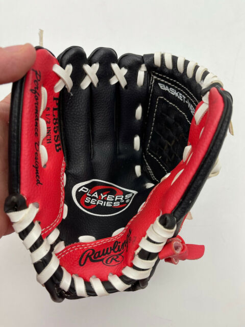 """Rawlings Left Hand Throw Youth Baseball Glove Players Series PL85SB 8 1/2"""" Red"""