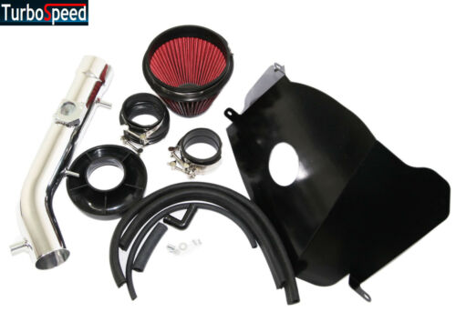 """3/"""" RED Cold Air Intake Kit+Heat Shield For 99-04 Tacoma 3.4L V6"""