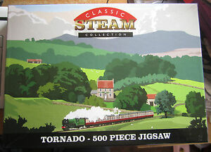 500-pc-JIGSAW-PUZZLE-CLASSIC-STEAM-COLLECTION-TORNADO-SUPERB-CONDITION