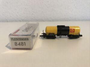 Spur N Fleischmann 8481 Kesselwagen Shell 4 Achsig OVP