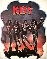 Vintage 1976 Kiss Iron On Transfer