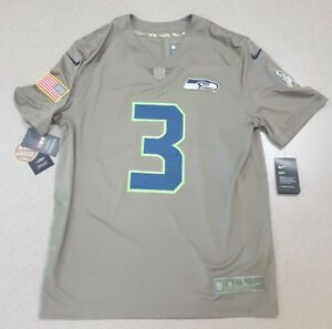 Nike Seattle Seahawks Russell Wilson  3 Salute to Service Limited ... 06ba65c57