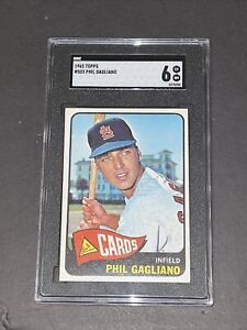 1965 Topps #503 Phil Gagliano SGC 6 Newly Graded & Labelled