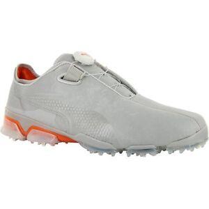e08f8fda94e8eb NIB Puma Titan Tour Ignite Disc Golf Shoes Grey Violet Vibrant ...