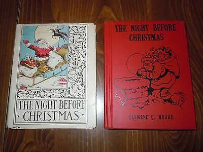 The Night Before Christmas Moore Wee Folks Platt & Munk 1935 HC w/ Dustjacket