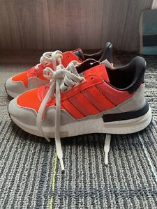 NWT-Adidas-Originals-ZX-500-RM-Boost-Shoes-Solar-Sneakers-DB2739-Mens-Size-4