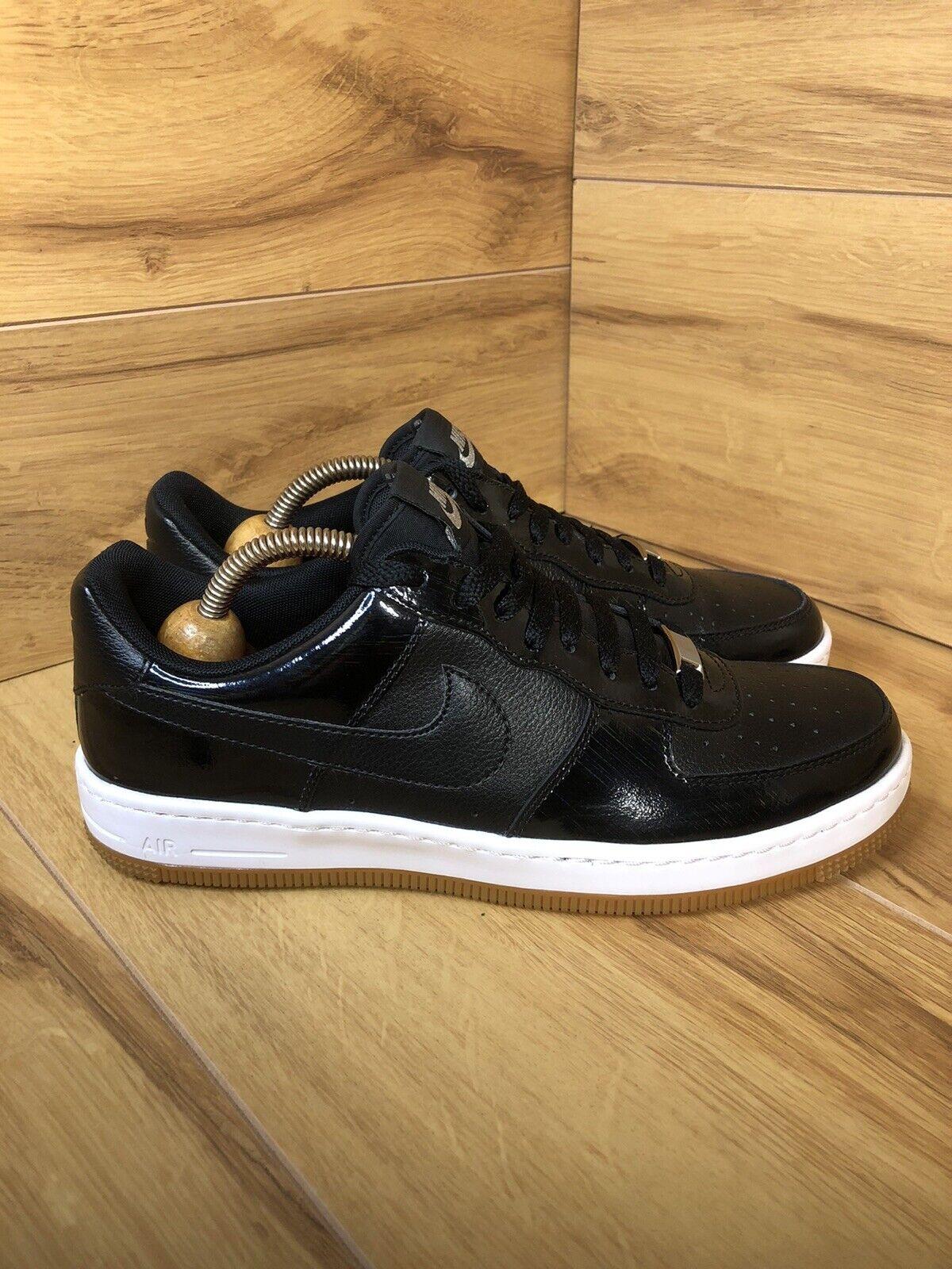 Nike Air Force 1 ultra Low, Black & Gum, UK7 EU 41 654852-002 VGC