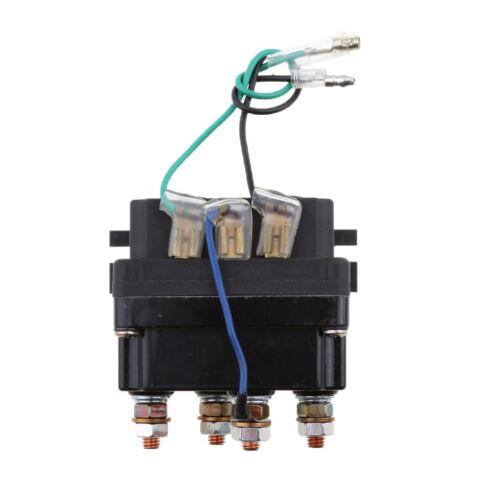 12V 500A Solénoïde Relais Contacteur De Treuil 9500LBS-17000LBS pour Camion
