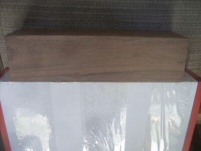 "CoöPeratieve 1pc Walnut Lumber Wood Lot 22y Carving Turning Blank 11 1/8""x 2 15/16""x 2 15/16"""
