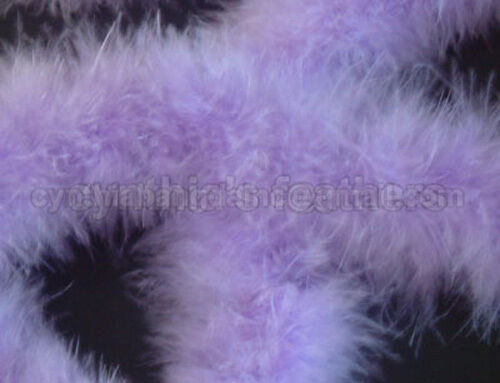 Lavender 75 Grams Marabou Father Boa Boas 10 Yards Long Crafting Sewing Trim