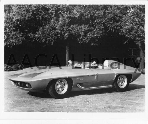 Factory Photo Ref. #35884 1962 Corvette XP 720 Concept Car