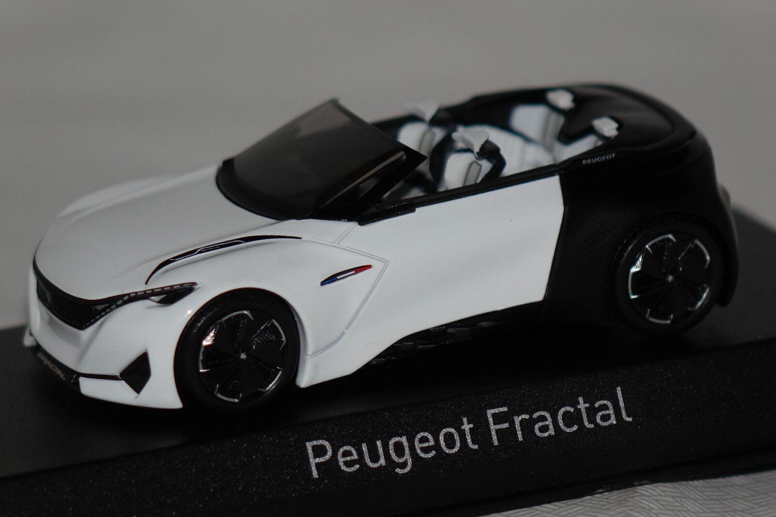 Peugeot Concept Car Fractal Cabrio Frankfurt 2015 1 43 Norev neu & OVP 479989