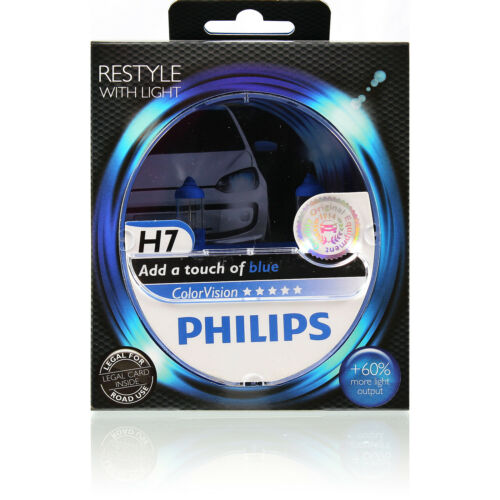 Philips ColorVision 60/% Set 2x H4 H7