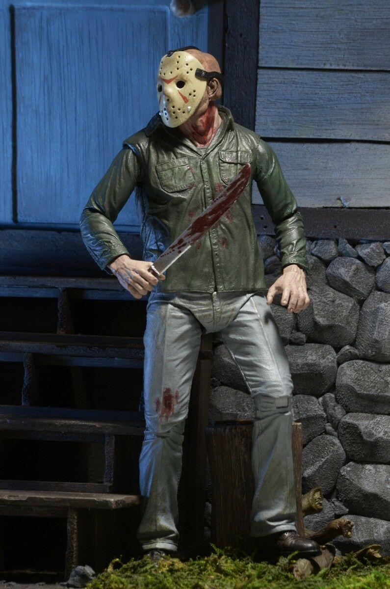Action figure Friday the 13th Part Part Part III Jason Voorhees Ultimate 3D 7 1 8in Neca ee41ed