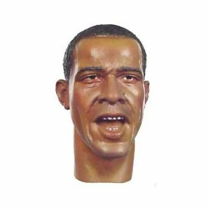 1//6 Scale Head w// Open Mouth DID USA President Barack Obama Action Figures