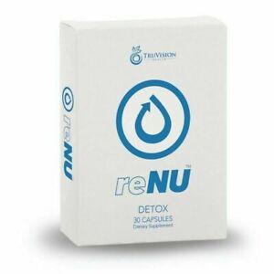 TruVision / Truvy ReNu Detox Weight Loss Management Supplement 30 Count Pills