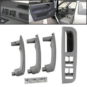 Image is loading Gray-Car-Interior-Door-Grab-Handle-Cover-Switch-  sc 1 st  eBay & Gray Car Interior Door Grab Handle Cover Switch Bezel For VW Jetta ... pezcame.com