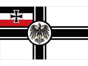 German-Empire-Flag-1903-To-1918-Iron-Cross-First-World-War-Germany-Army-Banner