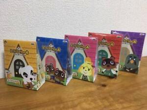 S Japanese Bandai Animal Crossing Ichiban Kuji Rubber Pass case G NEW Prize F