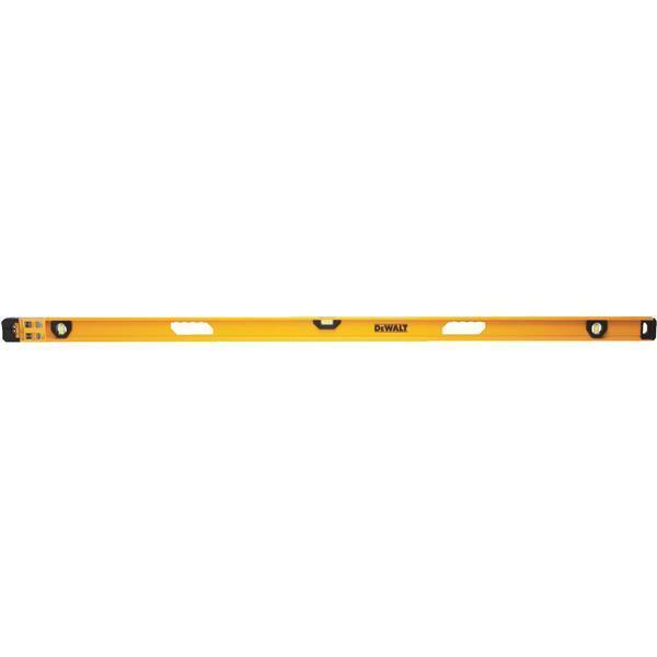 (1)-DeWalt 72  Non-Magnetic Aluminum Premium 3 Vial I-Beam Level DWHT42169