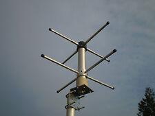 Base antenna turnstile crossed dipole RHCP 70cm 430-440 N connector