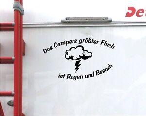 Des Campers Größter Fluch Aufkleber Wohnmobil Wohnwagen