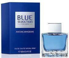 Blue Seduction Men by Antonio Banderas 3.4 oz for Men edt New In Box