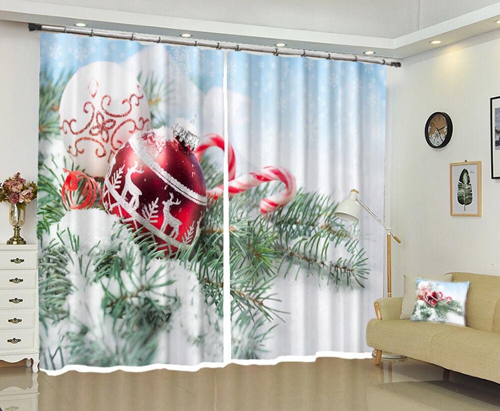 3d Natale Xmas CAMPANA 5 blocco foto sipario pressione sipario sostanza finestra de