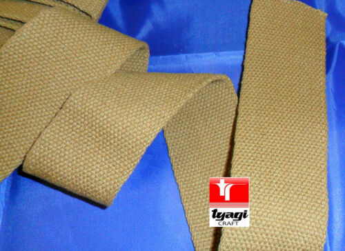 "1 /"" Heavy Canvas kaki sangle ruban de coton ceinture coton sangle milliatry la seconde guerre mondiale 25mm"