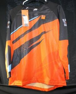 KTM-POWERWEAR-KIDS-POUNCE-SHIRT-JERSEY-MOTOCROSS-MX-GEAR-YOUTH-VENTILATED-RACING