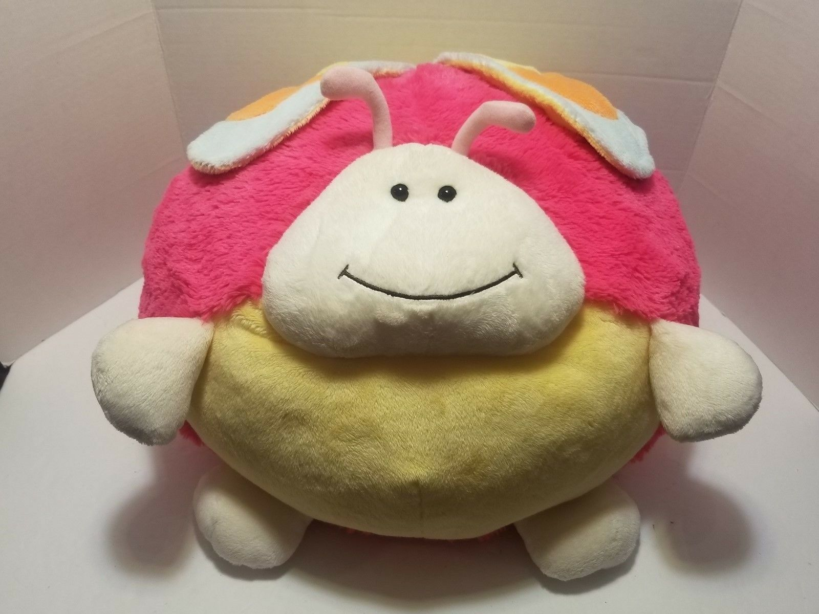 American Mills Plush Bailey The Butterfly 15  Round Large Stuffed Animal Pillow