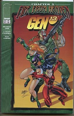 Gen 13 1995 series # 10 near mint comic book