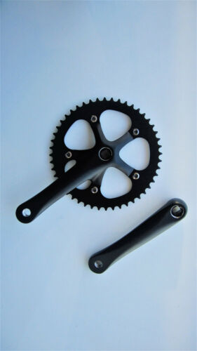 BMX Fixie Prowheel Fixie Chainring Aluminum Crankset 48T x 165 Road Bike