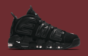 760465efb7d1c Nike Air More Uptempo Supreme Suptempo Triple Black Size 13. 902290 ...