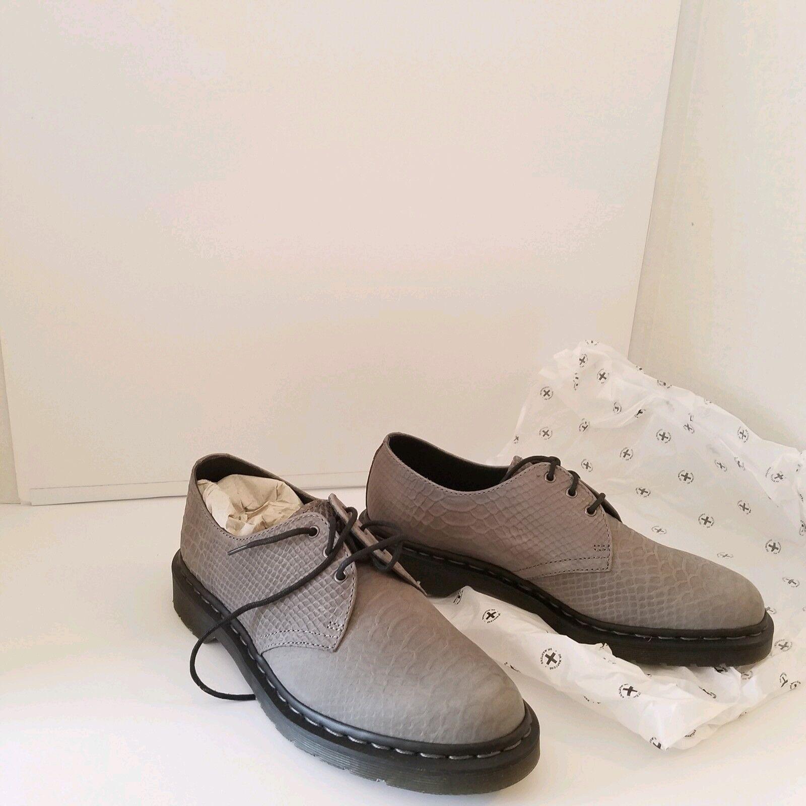 Dr Martens 1461 Python Grey 14482021 3 Hole shoes UK9 US10