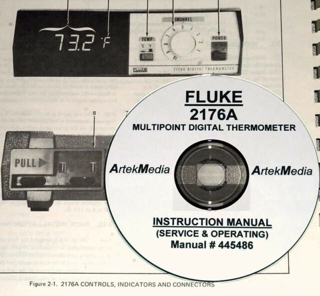 Business & Industrial & Service Manual FLUKE 2176A Digital ...