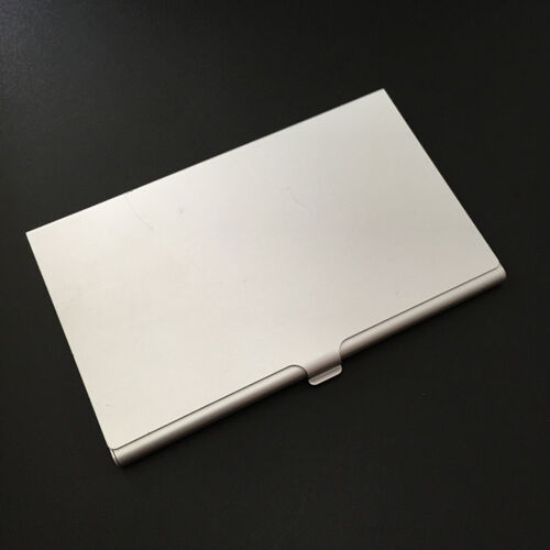 New Alloy Case Box Business ID Name Credit Card Holder Cover Namecard  case RDR
