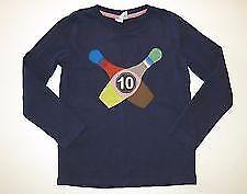baby cotton applique long sleeve top shirt age 1-12 NEW Mini Boden boys