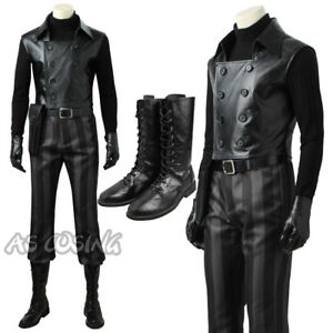 d578be698df Details about Spiderman Noir Cosplay Costume Custom Made Halloween Costume