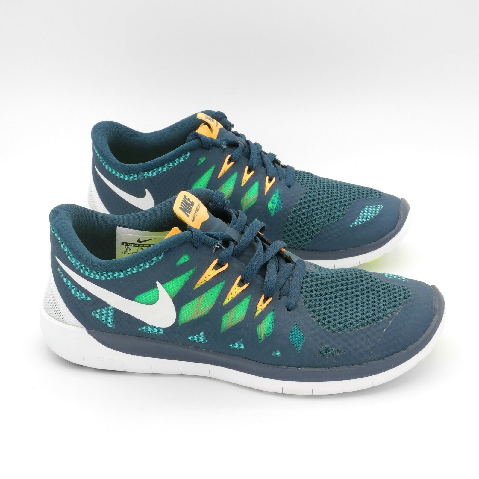 NIKE FREE 5.0 37,5 NUOVE zapatos sportive ginnastica palestra Unisex flessibili